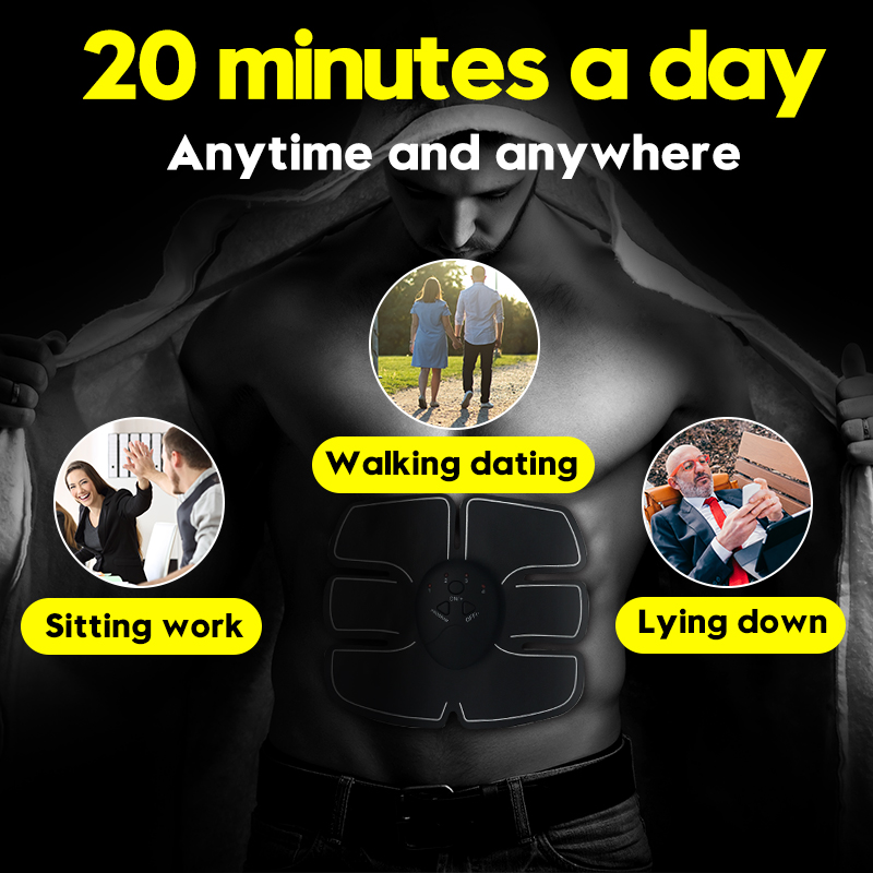 Abdominal Belly Leg Arm E-PERSONAL Muscle Trainer 4