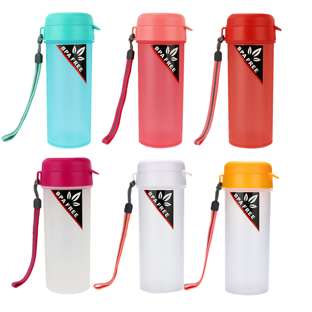 Creative Travel Outdoor Water Bottles Portable Dog Cat: 2019 Creative Solid Color Drinking Water Portable Water