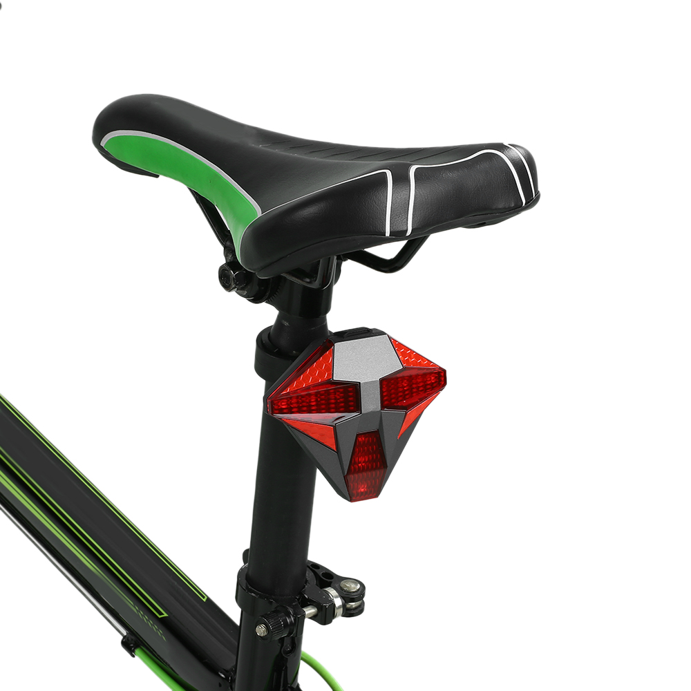 Bicycle Tail Light Wireless Rechargeable Remote Control Bike Warning Flashing Turn Signal Rear Lamp Blog Store