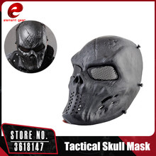 element gear Airsoft Paintball Tactical Full Face Protection Skull Mask Military