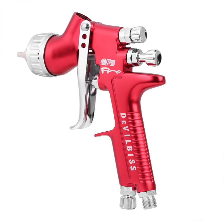 Professional Automotive Finish Painting Gun 1.3mm nozzle 600CC Cup Car Gravity Feed HVLP Stainless Steel Paint Spray Gun paint spray gun 1 5mm nozzle gravity 400ml cup stainless steel high pressure painting gun
