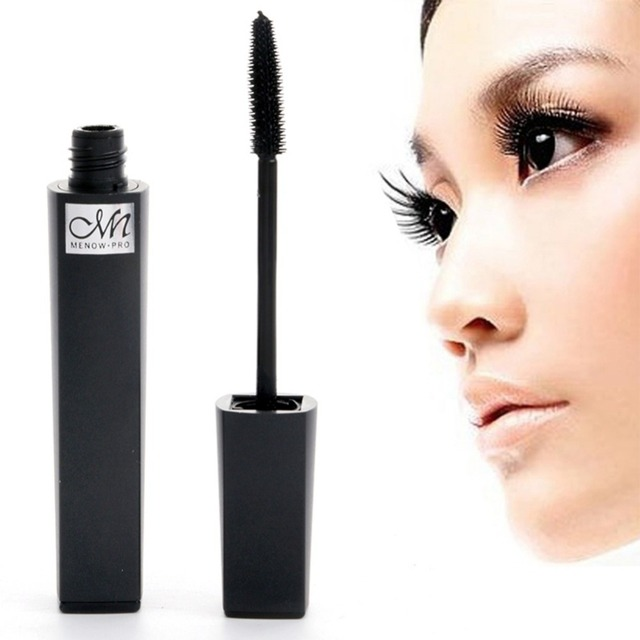 f22a3771a8f Waterproof Eyelashes Black Mascara Makeup Eyes Volume Longwearing Cosmetics  3D Fiber Lashes Lengthening Thick Curling