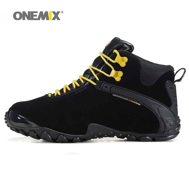 dba9cdd05 الرجال الخريف الشتاء المرأة مكافحة زلة في الهواء الطلق أحذية رياضية و الصوف  بطانة النساء حذاء للسير مسافات طويلة الدافئة حذاء ارتحال