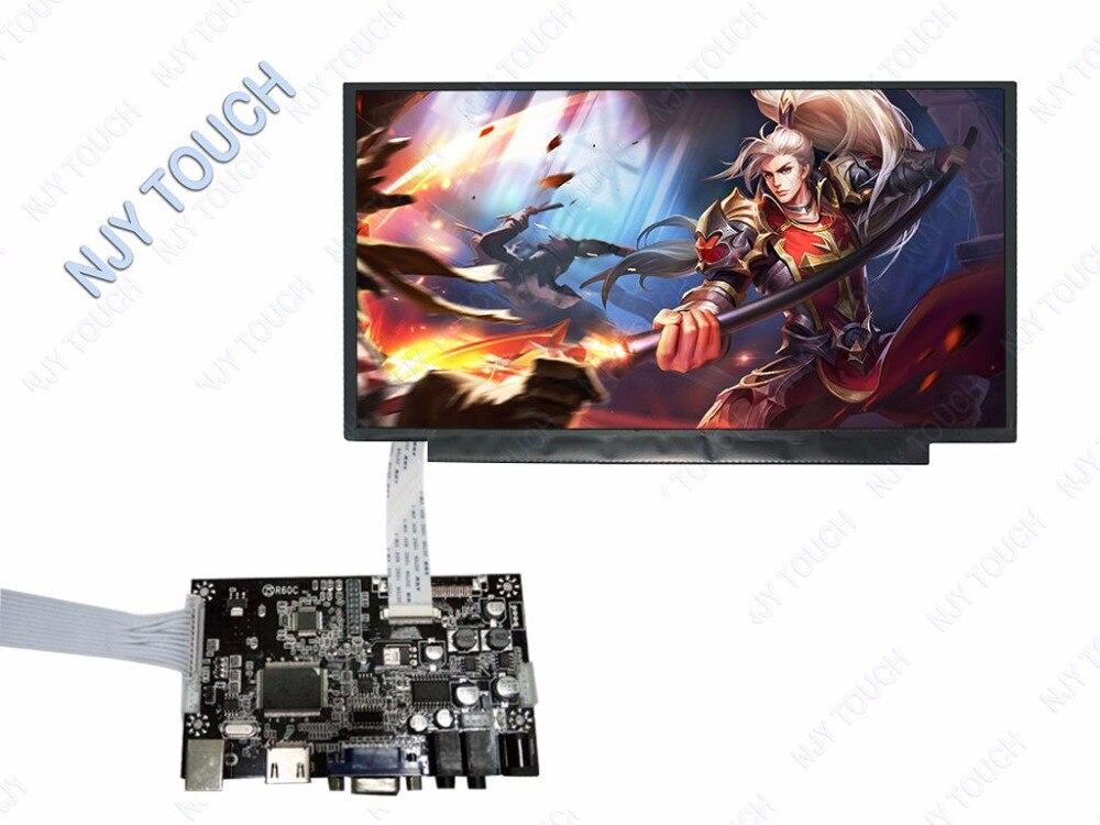HDMI VGA LCD Controller Board kit for 13.3 inch LP133WF2 eDP 30Pins LED Screen Display nt125whm n42 fit b125xtn01 0 12 5led lcd screen edp 30pins 2 special screw hole