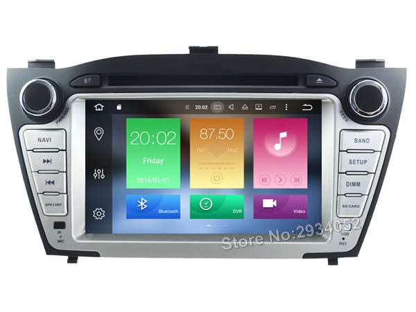 Buy FOR HYUNDAI TUCSON ix35 2009-2013 Android 6.0 Car DVD player Octa-Core(8Core) 2GRAM 1080P 32GBROM gps head device unit stereo for only 472 USD