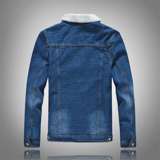 Winter denim jacket  2