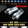 Pair D2/D2S/D2C AC 35W HID Xenon Replacement Headlight Bulb 4300K-15000K For 350Z 370Z Altima GT-R Maxima Murano Quest Rogue