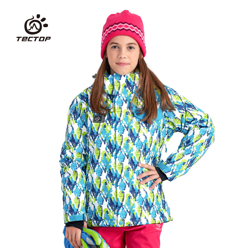 Tectop autumn winter boy girl childen outdoor Jackets  thermal waterproof windproof keep warm Breathable Ski suit hiking camping autumn winter tectop men fleece wear warm waterproof breathable windproof mountain climbing jacket camping