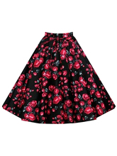 2017 New Style Casual Street Wear Women Skirt Summer Solid Party Skirts Female Empire Waist A Line Ball Gown Knee Length Skirts