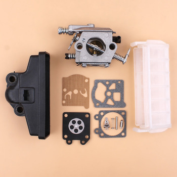 Carburetor Air Filter Carb Repair Kit Fit STIHL 021 023 025 MS210 MS230 MS250 MS 210 230 250 Chainsaw Replacement Parts switch shaft choke rod kit for stihl ms250 ms230 ms210 025 023 021 ms 250 230 210 chainsaw parts