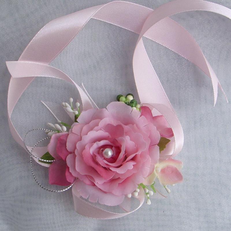 How to make a wrist corsage with silk flowers image collections how to make a wrist corsage with silk flowers gallery flower sale 2 pcs bridal or mightylinksfo