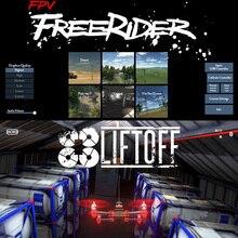 FreeRider Liftoff FPV Simulator Flight Racing Training Phone/Tablet Support WFLY FlySky RadioLink