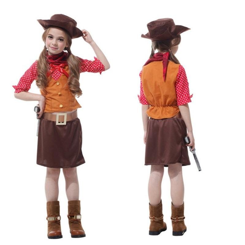 chicas vaquero de los nios cosplay pelcula mascarada de disfraces nios regalo de navidad carnaval fantasia