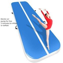 Envío gratis 3 M 4 m 5 M inflable barato gimnasia colchón gimnasio secadora Airtrack piso cayendo de aire para la venta