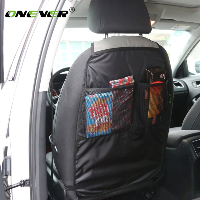 Onever Car Back Seat Organizer Storage Holder Multi-Pocket Travel Storage Hanging Bag Stowing Tidying Trunk Car Accessories