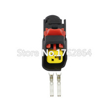 50 PCS Electronic connector  2 pin injector plug  car connector  DJ7026Y-1.5-21 цена 2017