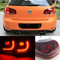 Hot Sale EMark Car Styling 2009 2010 2011 2012 2013 LED Tail light Rear Lamp Custom Modify For VW Volkswagen Golf MK6 VI GTD/GTI