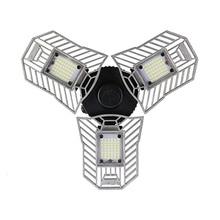 Angle Adjustable LED Deformable Garage Light 60W E27 LED Ceiling Lamp For Warehouse/Basement/Workshop LED Energy Saving Lamp