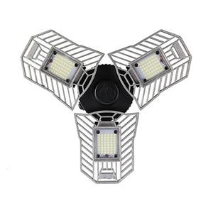 Image 1 - 각도 조정 가능한 LED 변형 가능한 차고 빛 60W E27 LED 천장 조명 창 고/지하/워크샵에 대 한 LED 에너지 절약 램프
