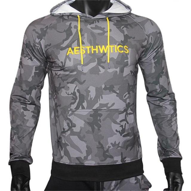 GYMLOCKER Brand Male Hoodies Top Pullover for Autumn Men Sweatshirt Clothe Long Sleeve Pocket Warm Hooded Sweatshirt Tracksuits 2