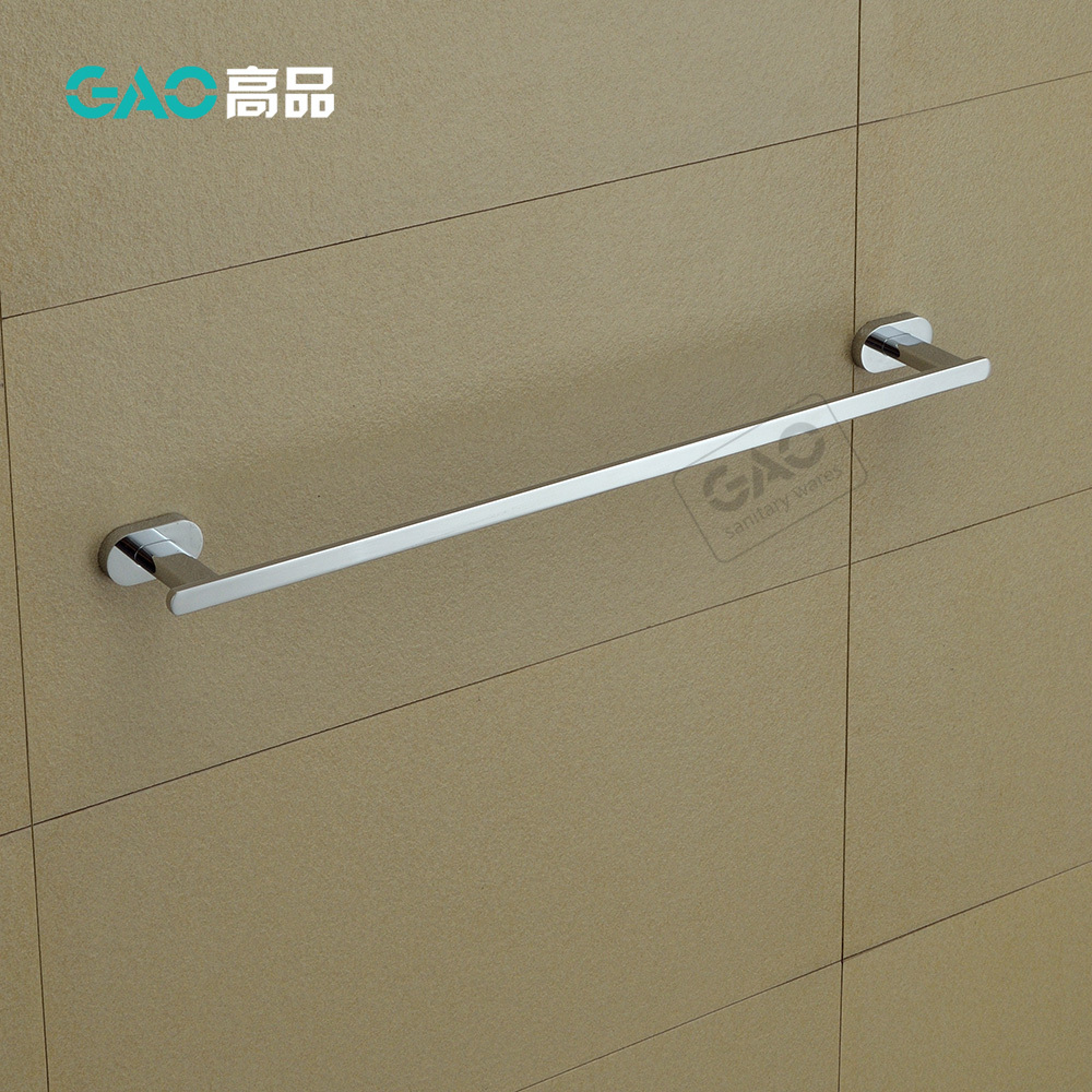 Free Shipping Towel Bar,Towel Holder,Solid Brass Made,Chrome Finished, Bathroom Accessories,Towel Rack, 60CM Length, Wholesale free shipping bathroom products solid brass chrome single towel bar chrome towel holder towel rack bathroom accessories cs008d 2