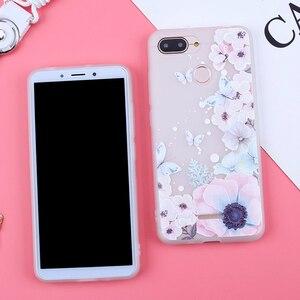 Image 2 - Case Voor Xiao mi rode Mi 6A covers FROSTED Bloem Telefoon Gevallen Voor Xiao Mi Mi 8 lite mi 9 SE Rode mi note 7 6 5 pro Rode Mi 7 6Pro 4X 5A