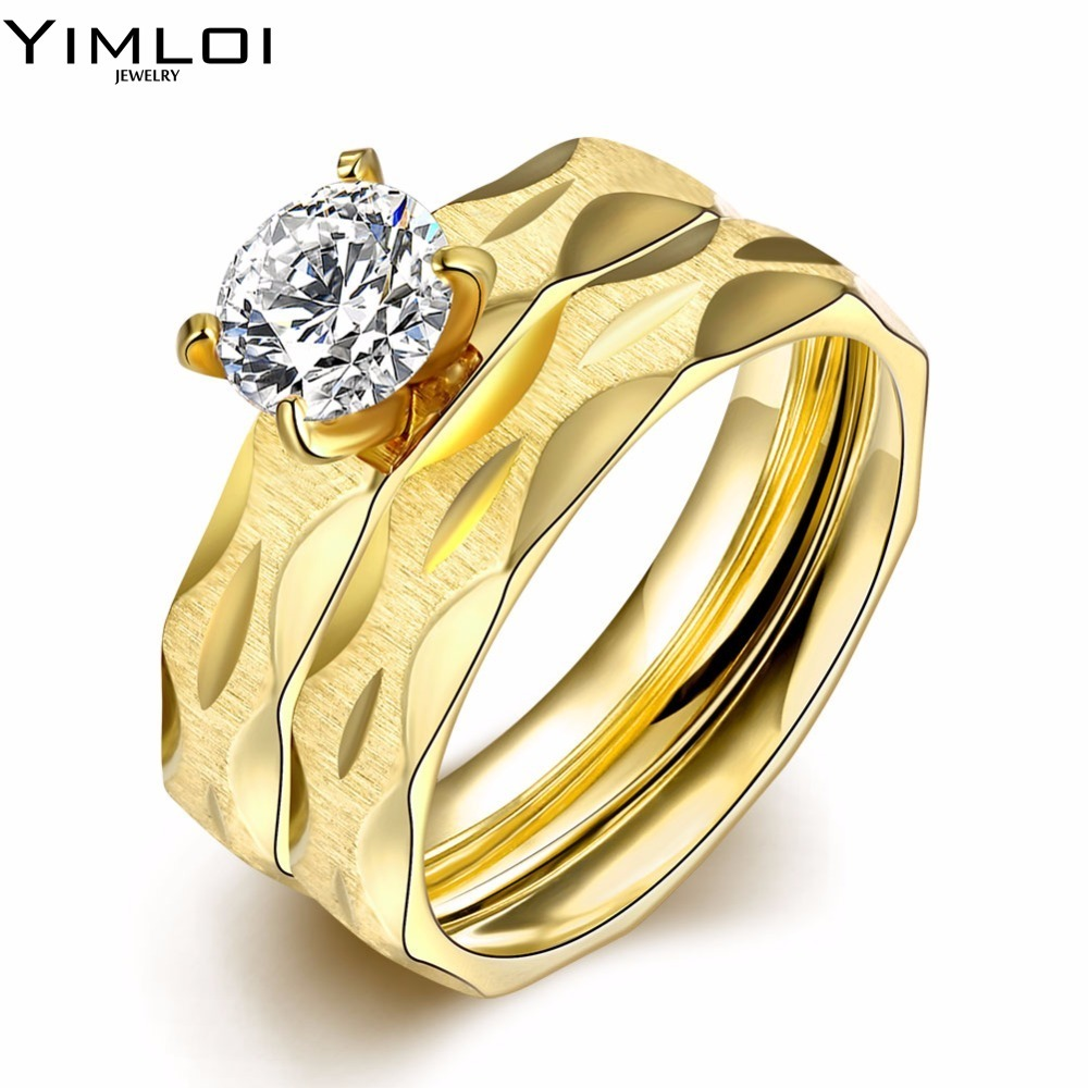 Wedding Rings For Men Gold Color Mens Band Rings Silver Color Ring Man  Fantasy Cool Vintage