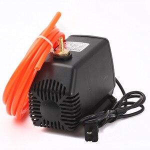 Image 5 - 2.2KW Raffreddato Ad Acqua Motore Mandrino CNC Router + 110V/220V Inverter + 80 millimetri Morsetto + Acqua pompa/tubo + 13pcs ER20 Collet Per Incisore