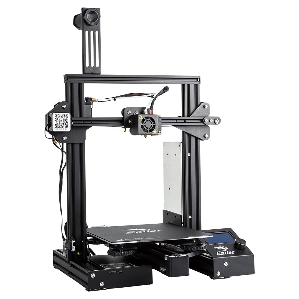 Date Ender-3/Ender-3X/Ender-3 Pro Créalité 3D Imprimante Open Source StablePower Fournir 3D Imprimante Avec Amovible Construire Surface - 2