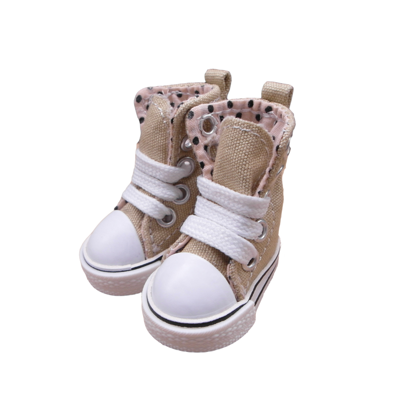 Tilda 3.5cm Doll Boots for Blythe Toy,1/8 Canvas Dolls Shoes for EXO 15cm Plush Dolls Toy,Fashion Puppet Sneakers AccessoriesTilda 3.5cm Doll Boots for Blythe Toy,1/8 Canvas Dolls Shoes for EXO 15cm Plush Dolls Toy,Fashion Puppet Sneakers Accessories