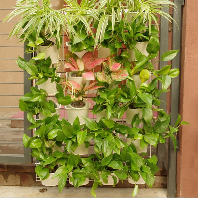 Wall Hanging Flower Pots compare prices on hanging wall flower pots- online shopping/buy