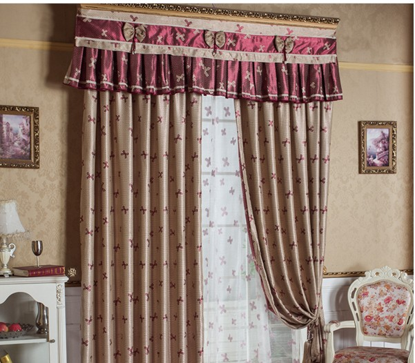 Roze gordijnen voor woonkamer slaapkamer kinderen kids baby kamer ...
