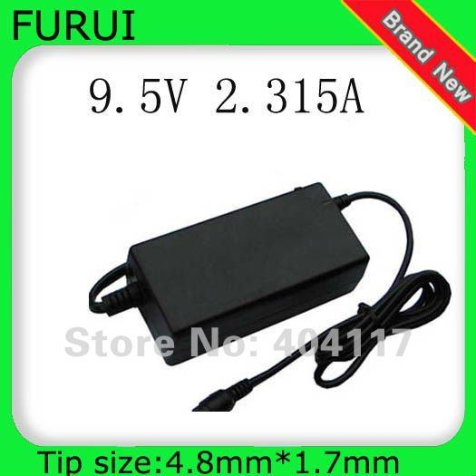 10pcs Free shipping Laptop Notebook  Ac Power Adapter Charger For ASUS EEE PC 4G/4G Surf/8G 700 701 2.315A 9.5V 4.8*1.7mm 22W