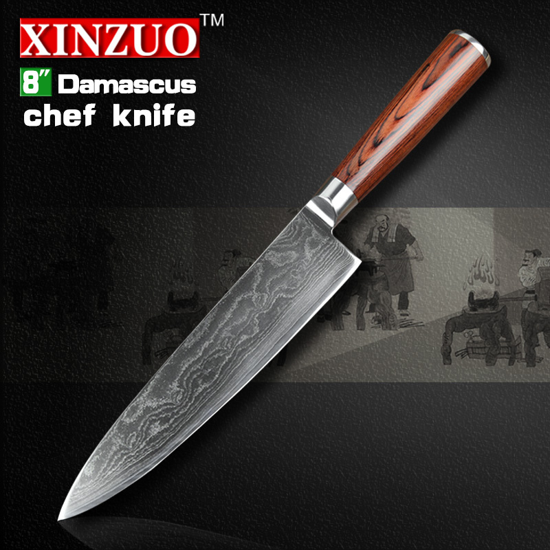 73 layers Japanese VG 10 Damascus steel kitchen font b knife b font High quality forged