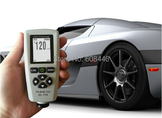Digital Paint Coating Thickness Gauge Meter F/N Probe Tester 1300um / 51.2mils