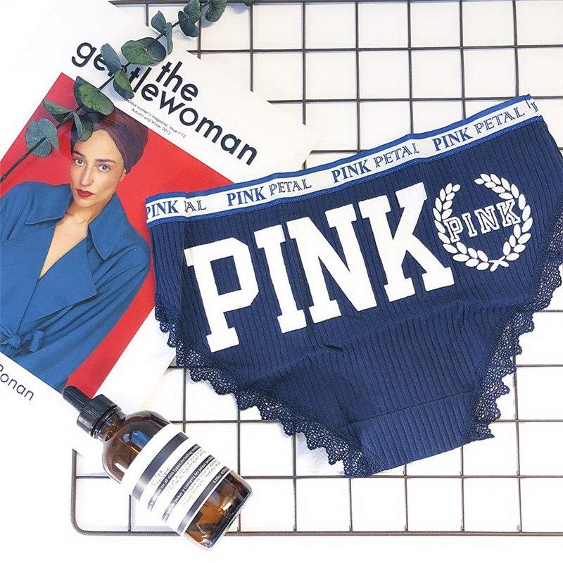 pink panties women breathable women underwear panties cute lace women briefs soft cotton panties women mid waist sexy panty 15 (4)
