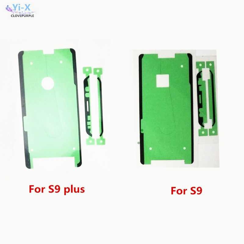 ملصق لاصق شريط لاصق الجبهة LCD شاشة تعمل باللمس الإطار لسامسونج S3 S4 S5/S6 حافة/S7/S7 حافة/S8/S8 زائد/S9 S9 plus