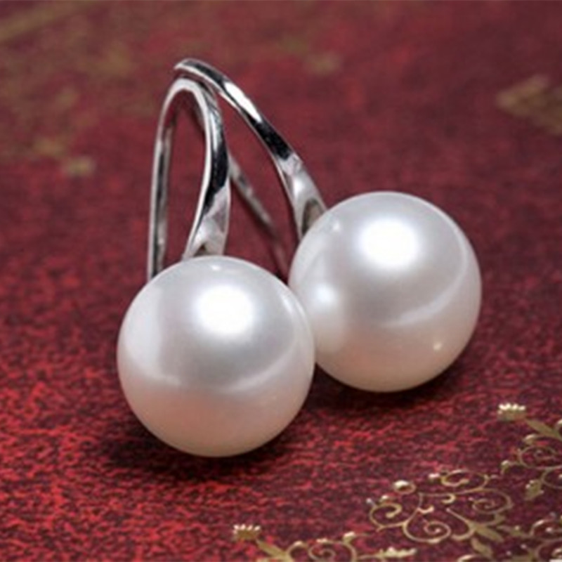 New ladies fashion simple pearl earrings quality jewelry wholesale bride Chinese fashion jewelry