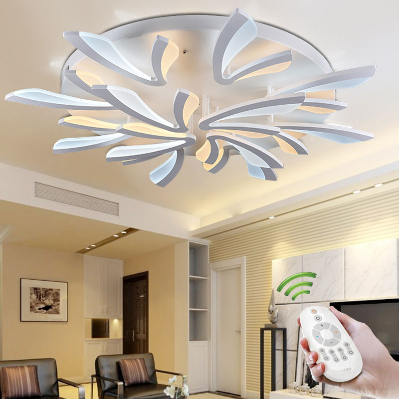 Buy New Arrival Modern Led Ceiling Lights For Living Room Bedroom Acrylic Led