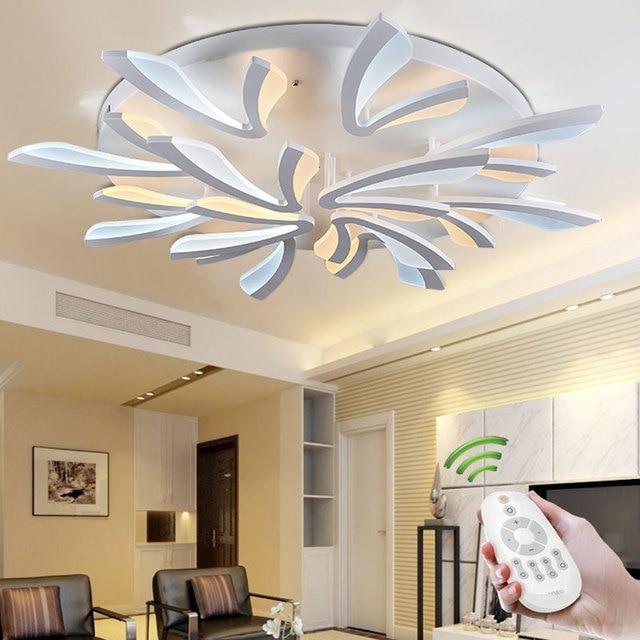 new home lighting. New Arrival Modern LED Ceiling Lights For Living Room Bedroom Acrylic Lustres Lamp Home Lighting V