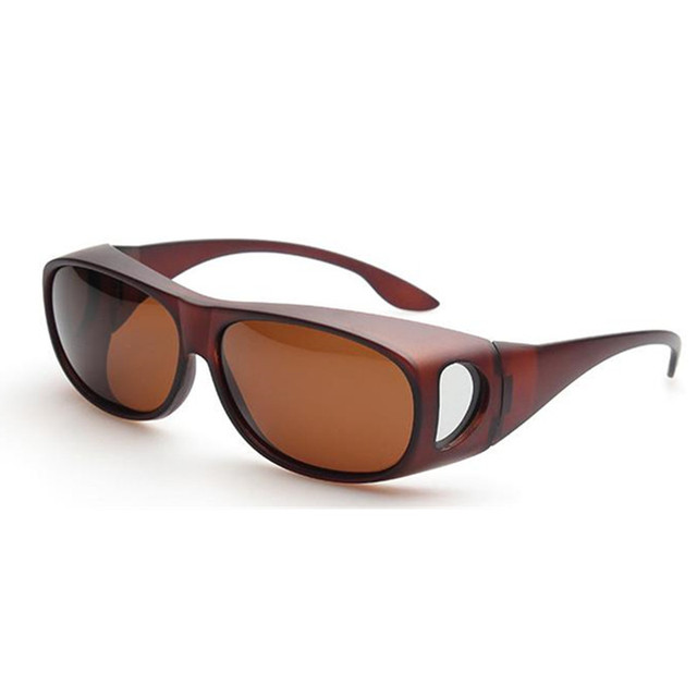 d779f43a1ee Unisex Prescription safety glasses Polarized Sunglasses cover  wear over  Prescription Glasses Sunglasses Fit over RX Glasses