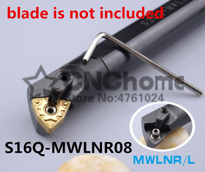 S16Q-MWLNR08/S16Q-MWLNL08 Boring Bar,Dia 16*16mm Internal Turning Tool Holder CNC Tool Holder,Lathe Cutting Tool For WNMG0804