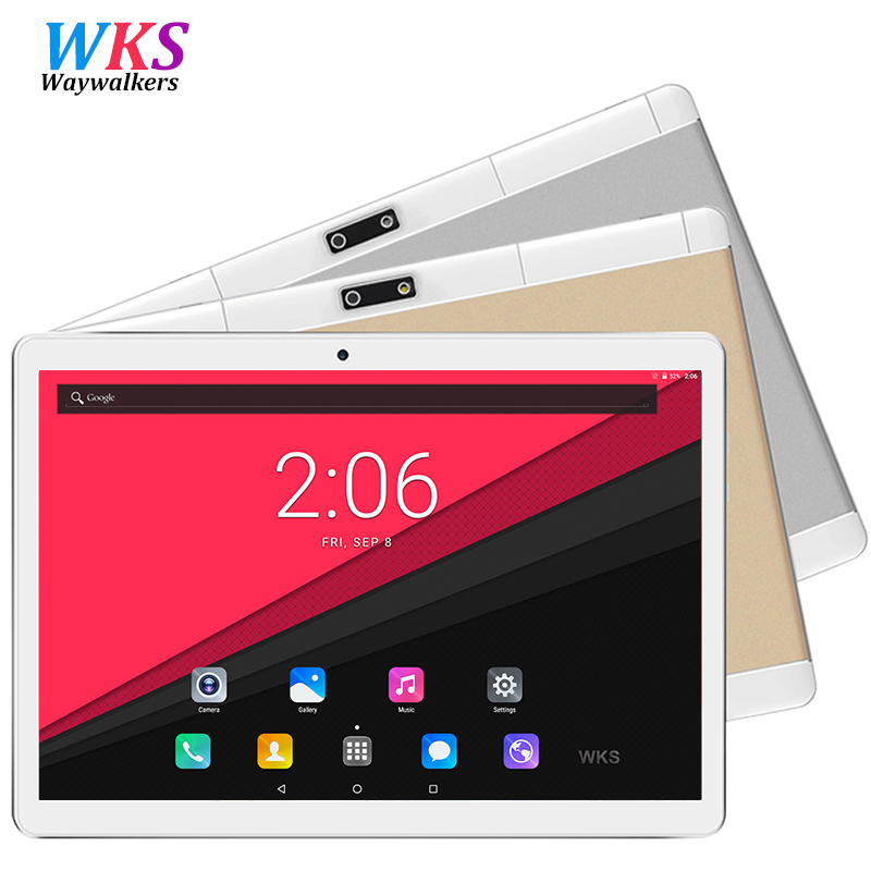 9.6 Inch Tablet PC Octa Core Phone Call 800*1280 4GB RAM 32GB 64GB ROM 5.0MP Camera Android 7.0 Tablets PCs BT WIFI SIM Card russian 10 inch octa core android 5 1 tablets pc 4gb 64gb 1280 800 gps bluetooth fm 2 sim card phone call smart computer pad