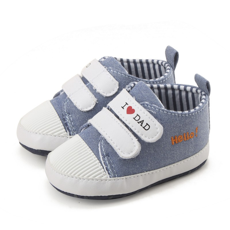 Spring Autumn Baby Comfortable Breathable Girls Boys Fashion Canvas First Walkers Sneakers Toddler Shoes J2