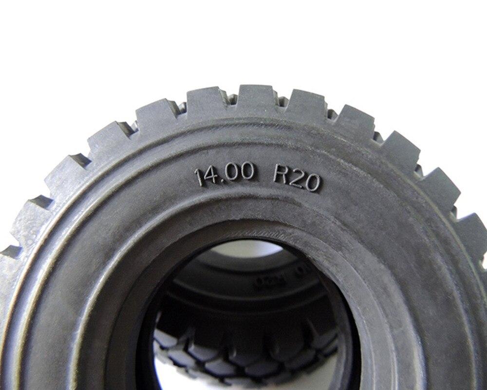 100mm 2 pces pneus de borracha pneu 03