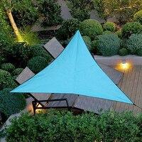 3M 4M Outdoor Sun Shelter Wasserdicht Markise Dreieck Zelt Baldachin Garten Strand Picknick Camp Schatten Plane Reise Markise sonnenschirm Neue