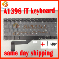 Brand New IT Laptop Keyboard For Apple Macbook Pro A1398 BLACK Italian Italy IT Keyboard Without