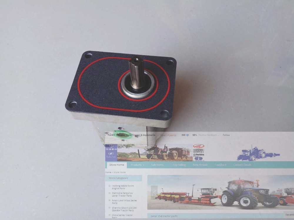 Fengshou Lenar 254 tractor parts the gear pump CBN E314