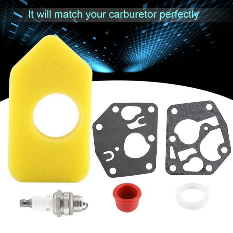 1 Set Replacement Practical High Quality Carburetor Diaphragm Gasket Air Filter Kit For Briggs Stratton 495770