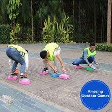 Веселая игрушка для игр на открытом воздухе блоки спортивные игрушки EVA пены кирпичи родители дети команда игры компании Вечерние игры высокой плотности Йога блок